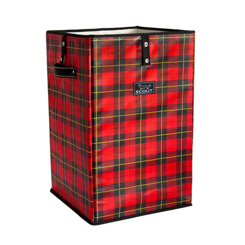 Scout Remember the Tartans Plaid Collapsible Laundry Hamper or Trash Cache