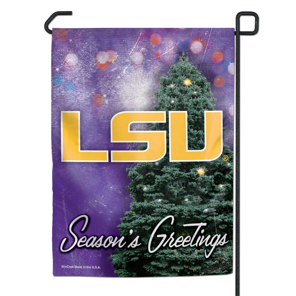 LSU Tigers Official NCAA 11 inch  x 15 inch  Garden Flag by WinCraft