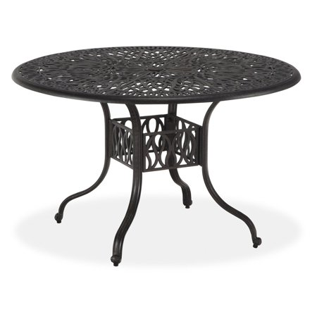 60 Inch Round Patio Table (Floral Blossom 48-Inch Round Dining)