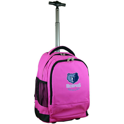 Mojo Licensing Premium Wheeled Backpack - Memphis Grizzlies