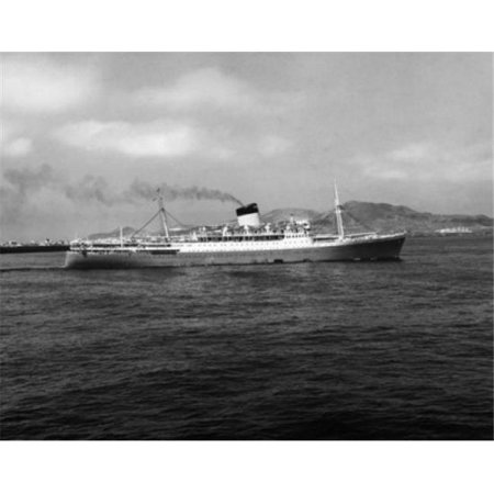Posterazzi SAL25544323 Cruise Ship in the Sea Las Palmas Canary Islands Spain Poster Print - 18 x 24 in. - image 1 of 1