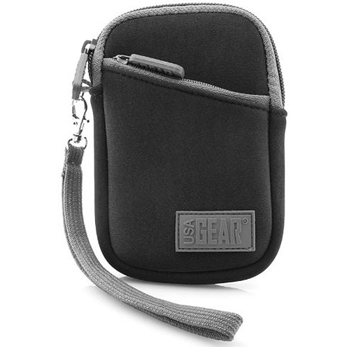 Image of Accessory Power GEAR-GLOV-BLK USA Gear Zippered Carrying Case, Black