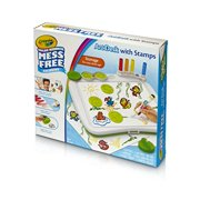 75-2483-CRAYOLA COLOR WONDER ART DESK-W/ STAMPERS MESS-FREE FUN IN A CASE-CRAYOLA