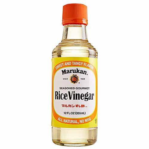 Vinegar in rice