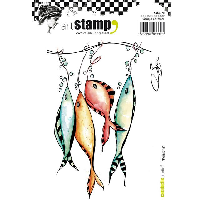 Carabelle Studio Cling Stamp A6 By Soizic-Fishes