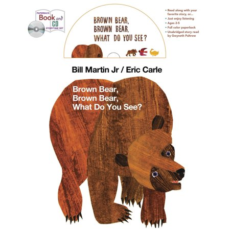 Brown Bear book and CD storytime set - Brown Bear Brown Bear Book