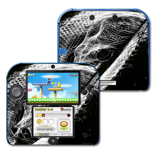 Mightyskins Protective Vinyl Skin Decal Cover for Nintendo 2DS wrap sticker skins Snake Bite