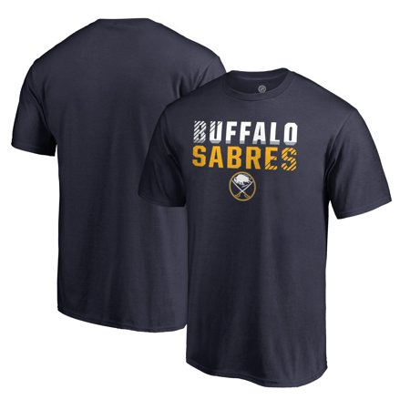 Buffalo Sabres Fanatics Branded Iconic Collection Fade Out T-Shirt - Navy ()