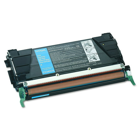 - Lexmark C534 Cyan Extra High Yield Return Program Toner Cartridge