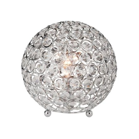 All The RagesLT1026-CHR Crystal Ball Table Lamp - image 4 of 4