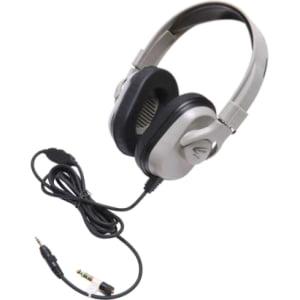 Ergoguys - HPK-1520 - Califone Headphone, In-line Volume, PC,Mac, Wired Via Ergoguys - Stereo - Mini-phone - Wired - 50
