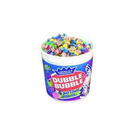 Dubble Bubble 300 Count Assorted Twist Tub Walmart Com