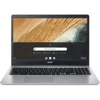 "Refurbished Acer Chromebook 315 15.6"", Intel Celeron N4000, 4GB RAM, 32GB SSD, Chrome OS, Pure Silver, CB315-3H-C2C3"