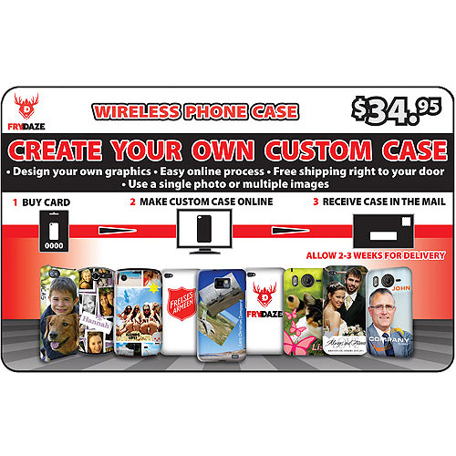 (Email Delivery) Frydaze Customized Case for Phones. iPhone, Samsung, HTC, LG, Nokia, Blackberry, and more