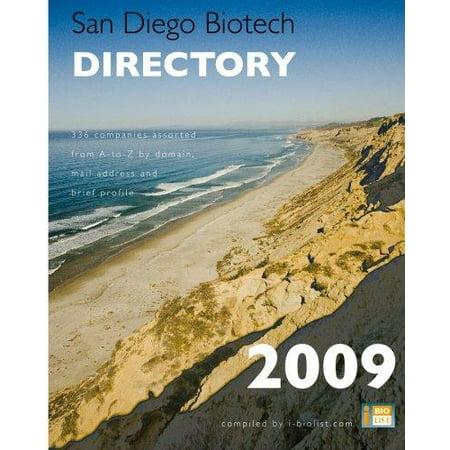 San Diego Biotech Directory 2009  Url Domain List Of 336 San Diego Biotech Companies