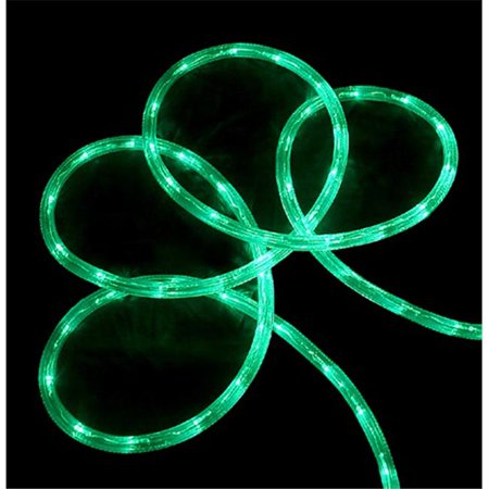 NorthLight 18 Ft Green LED Indoor Outdoor Christmas Rope Lights