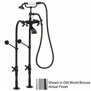 American Bath Factory F900C-CH F900C Free Standing Faucet