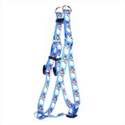 Yellow Dog Design SI-SNP103L Snowman Print Step - In Harness - Large