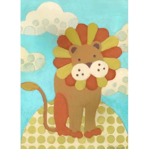 Oopsy Daisy's Leo Lion Canvas Wall Art, 10x14