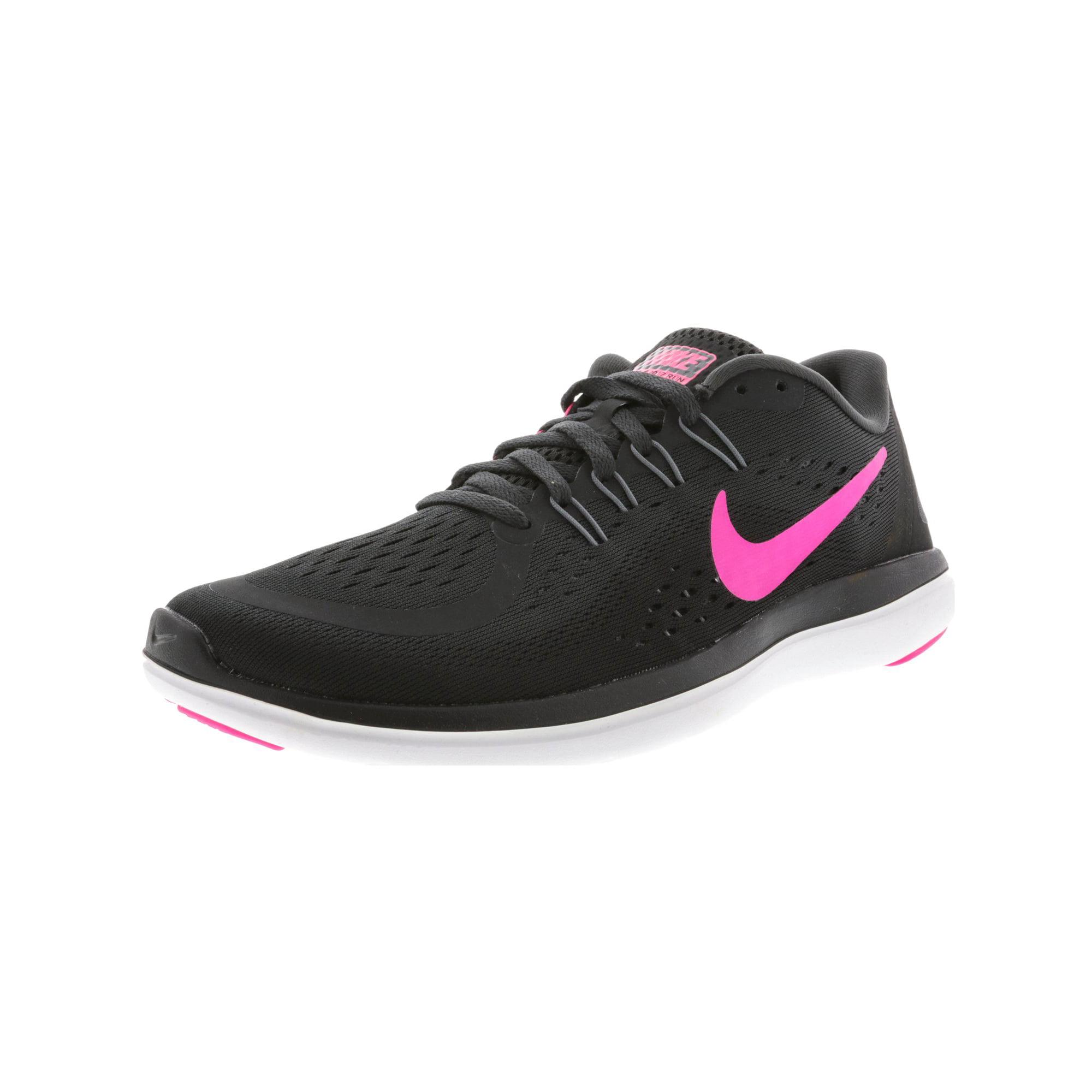 fc5b2ae6a701f Nike Women s Flex 2017 Rn White   Metallic Silver Ankle-High Cross Country  Running Shoe - 7M
