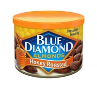 Blue Diamond Honey Roasted Almonds 6 oz. Canister