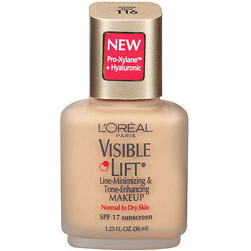 L'Oreal  Paris Visible Lift Line-Minimizing & Tone-Enhancing Makeup, Golden Beige