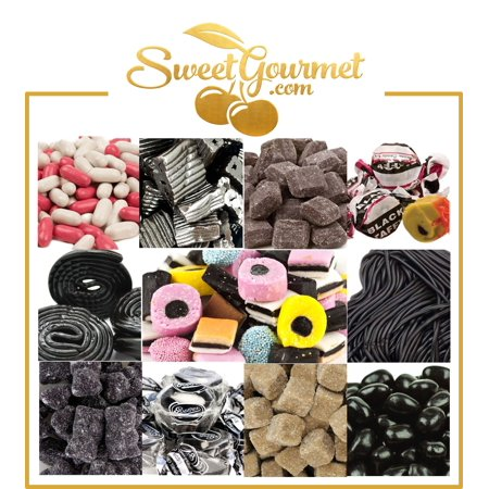 SweetGourmet World's Best Licorice Hamper - Candy Gift Box with Personal Message ()