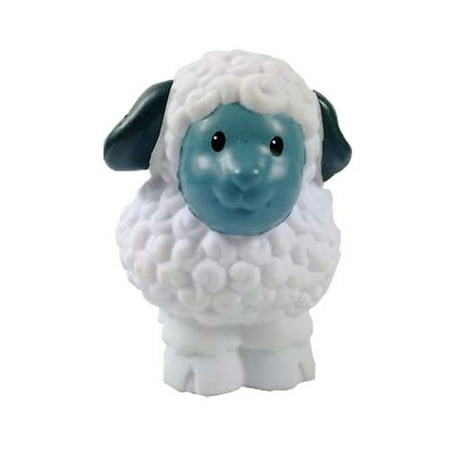 Little People Nativity Manger Baby Jesus Mary Set - Replacement Sheep Toy Figure (Toy Manger)