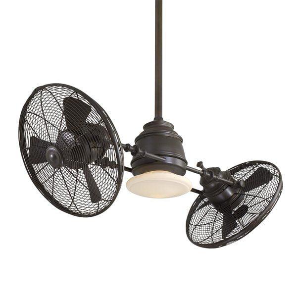 Minka Aire F802 42-in Vintage Gyro Ceiling Fan