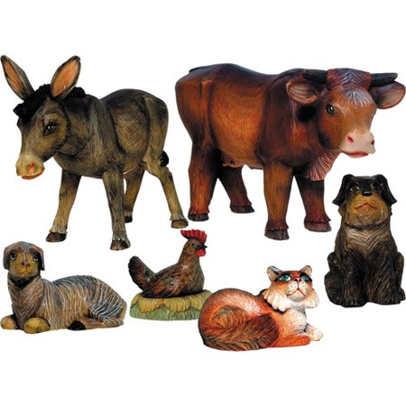 The Holiday Aisle Fifield 6 Piece Nativity Animals Set (Nativity Animals)