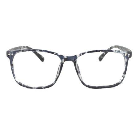 4e8b9d5e7f2 Eye Buy Express Prescription Glasses Mens Womens Gloss Black White ...
