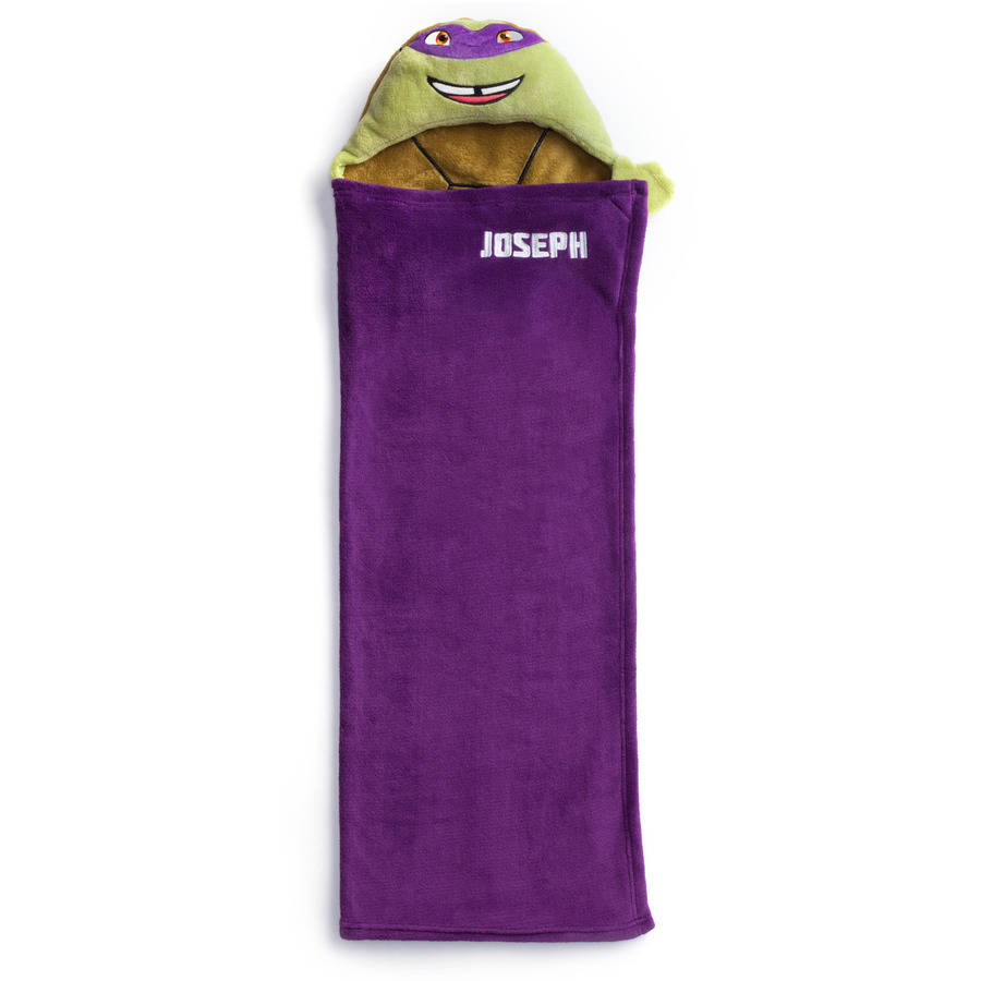Personalized Teenage Mutant Ninja Turtles Hooded Blanket, DONATELLO by Generic