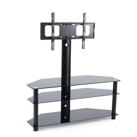 Tavr Swivel Floor Tv Stand With Mount 3 In 1 Flat Panel