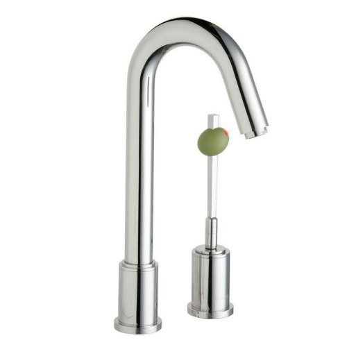 Elkay LKM7727PSS Ella 2-Hole Bar Prep Faucet with Martini Olive Handle, Polished Stainless... by Elkay