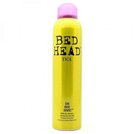 TIGI Bed Head Matte Dry Shampoo for Women, Oh Bee Hive!, 5