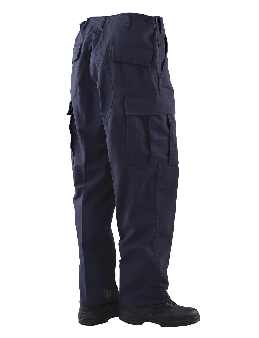 Tru-Spec BDU Trousers Navy 60//40 Cotton Polyester Twill
