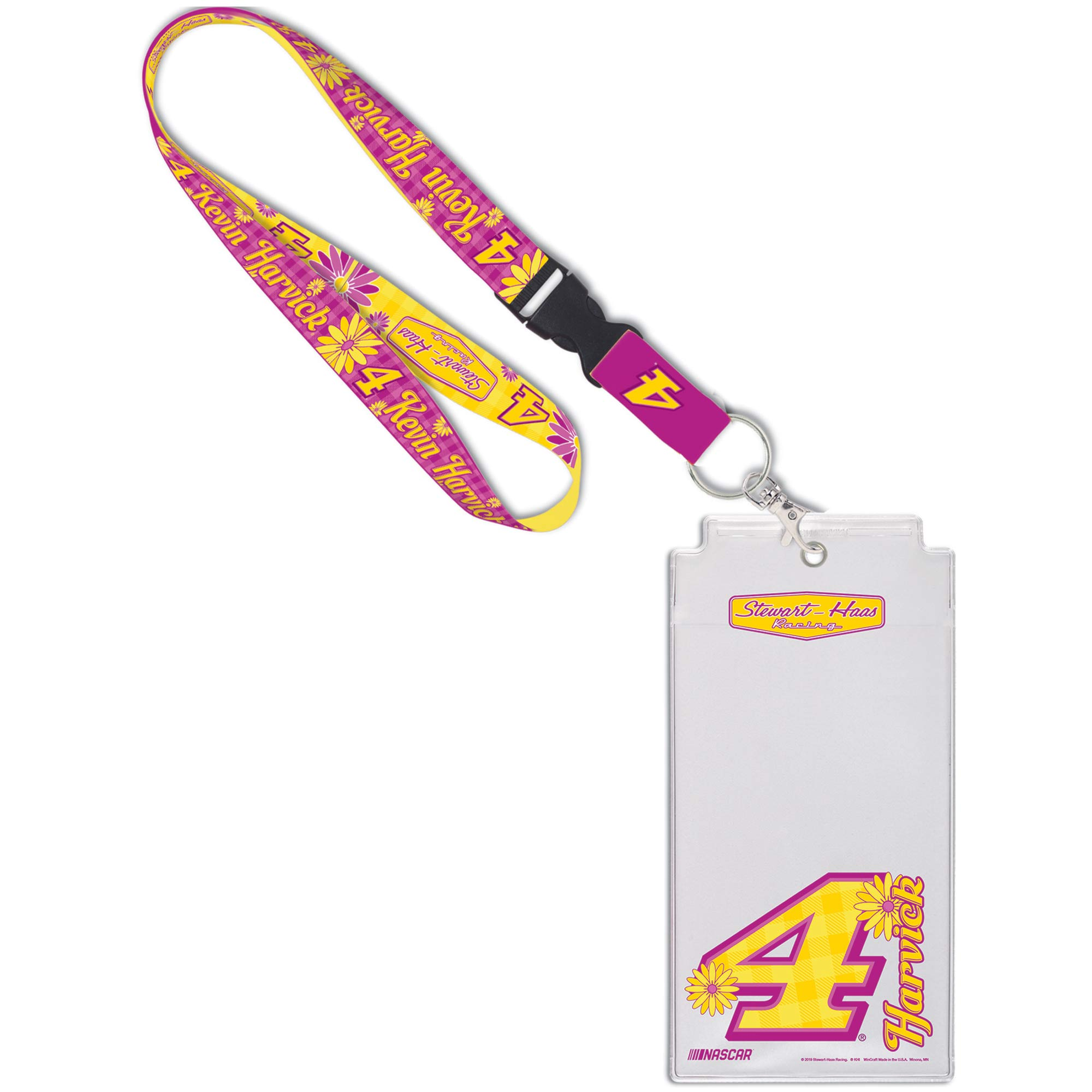 Kevin Harvick WinCraft Flower Credential Holder - No Size