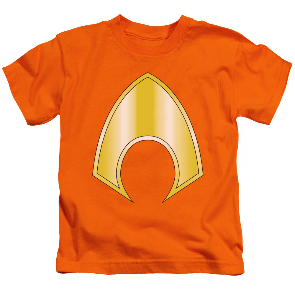 Justice League Aquaman Logo Little Boys Shirt