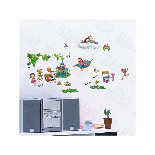 Forest Friends - Wall Decals Stickers Appliques Home Decor  Multicolor