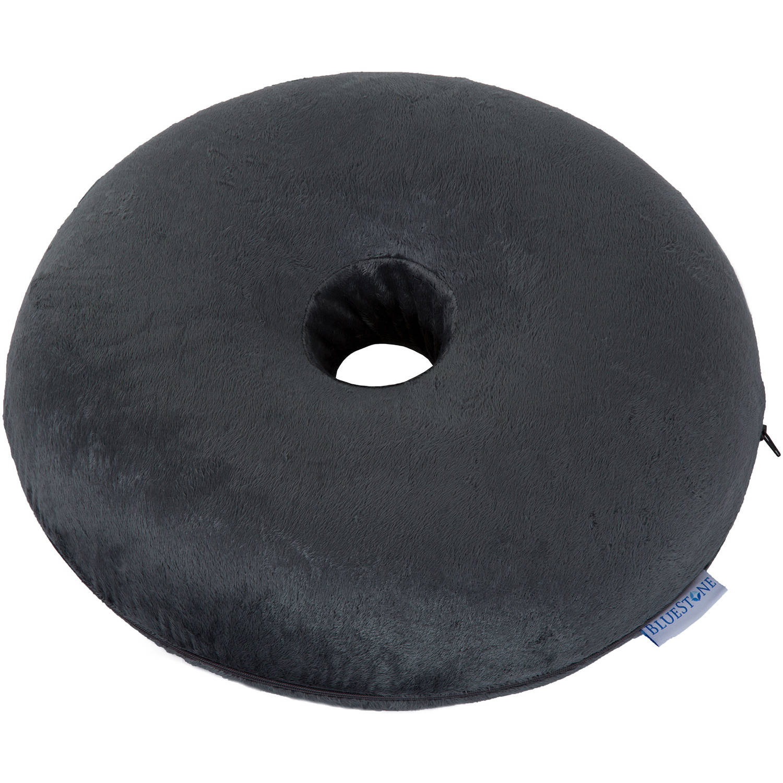 Donut Pillow Memory Foam Ring Cushion With Plush