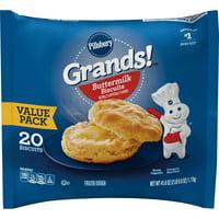Pillsbury Grands! Buttermilk Biscuits 41.6 Oz, 20 Count