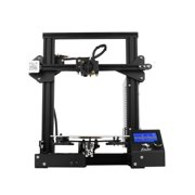 Creality 3D Ender-3 High- DIY 3D Printer Self-assemble 220×220×250mm Printing Size with Resume Printing Function, Black