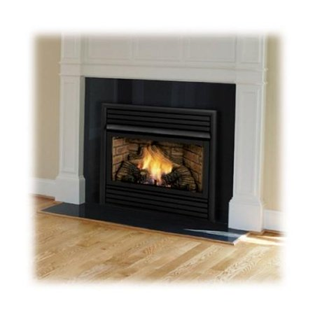 Monessen Dfx24nvc 24 Vent Free Natural Gas Fireplace With Random Yellow Flame Deep Ember Bed