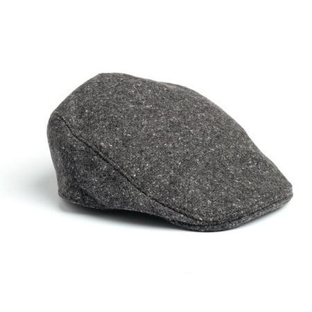 716c0ee6a Donegal Touring Cap Tweed Hat-Salt & Pepper