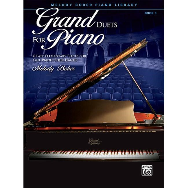 Alfred 00-35439 Grand Duets for Piano- Book 3 - Music Book