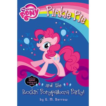 My Little Pony: Pinkie Pie and the Rockin' Ponypalooza Party! (My Little Pony Halloween Coloring Pages)