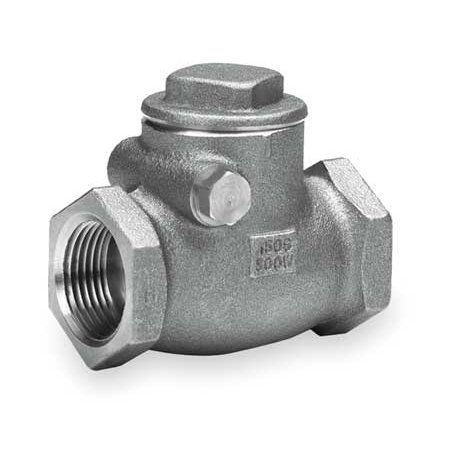 Bronze Swing Check Valve (MILWAUKEE VALVE Swing Check Valve,Bronze,1-1/2 In.,FNPT 515)