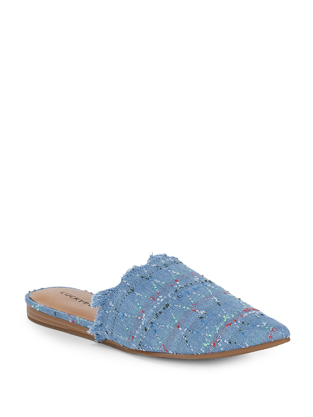 Bapsee Casual Frayed Mules