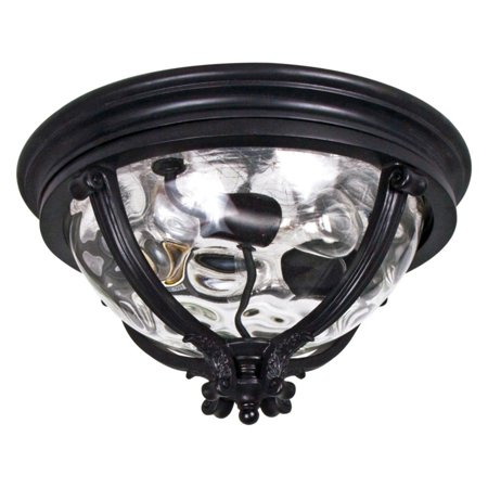- Maxim 41420WGBK Camden VX Outdoor Ceiling Mount - 16W in. Black