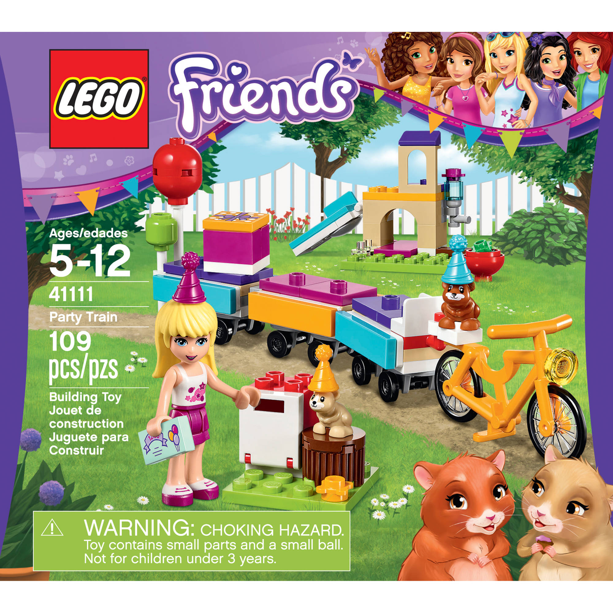 LEGO Friends Party Train, 41111 - Walmart.com